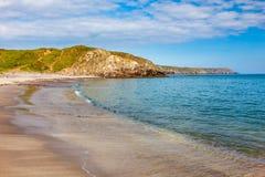 Kennack piaski Cornwall Anglia UK fotografia royalty free