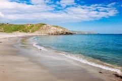 Kennack piaski Cornwall Anglia UK obraz royalty free