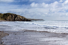Kennack Sands Cornwall Royalty Free Stock Images