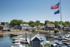 Kennebunkport Новая Англия Мейн на солнечном после полудня стоковые фото