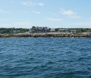 Kennebunkport Maine -  Bush Compound Stock Image