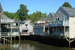 Kennebunkport, Maine, de V.S. Stock Foto's