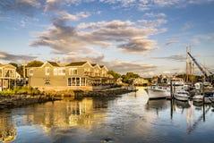 Kennebunkport, Maine, EUA Fotos de Stock Royalty Free