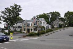 Kennebunkport, Maine, il 30 giugno: Maine Art Gallery Building da Kennebunkport nello stato di Maine di U.S.A. Fotografia Stock Libera da Diritti