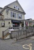 Kennebunkport, Maine, il 30 giugno: Camera storica del centro da Kennebunkport nello stato di Maine di U.S.A. Fotografia Stock Libera da Diritti