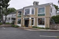 Kennebunkport, Maine, am 30. Juni: Maine Art Gallery Building von Kennebunkport in Maine-Staat von USA Stockbilder