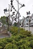Kennebunkport, Maine, am 30. Juni: Maine Art Gallery Garden von Kennebunkport in Maine-Staat von USA Stockfotografie