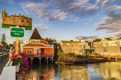 Kennebunkport, Maine, los E Fotografía de archivo