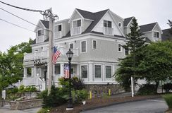 Kennebunkport, Maine, 30th June: Grand Hotel Building from Kennebunkport in Maine state of USA Stock Images