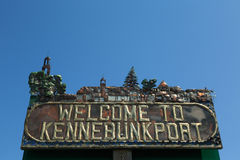 Kennebunkport Sign Royalty Free Stock Photo