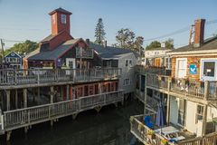 Kennebunkport in York County, Maine, United States stock photography