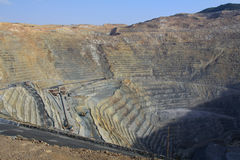 Kennecott Copper Mine royalty free stock photo