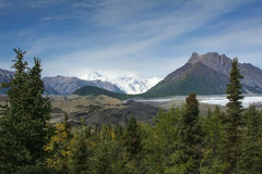 Kennecott Glacier Stock Photography