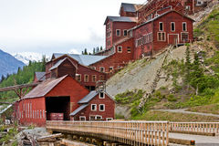 Kennecott Mine Royalty Free Stock Photo