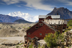 Kennecott Mine in Alaska Royalty Free Stock Image