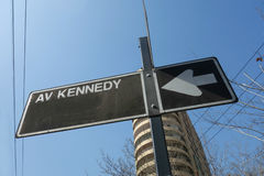 Kennedy Avenue photographie stock
