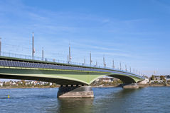 Kennedy Bridge in Bonn, Germany Stock Photos