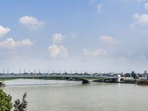 Kennedy bridge Bonn Stock Photo