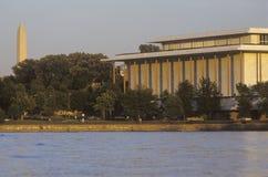 Kennedy Center für die Performing Arten durch das Potomac, Washington, D C stockbilder