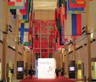 Kennedy Center, Washington, gelijkstroom royalty-vrije stock foto