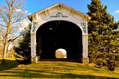Kennedy Covered Bridge Connersville Indiana stockfoto