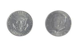 Kennedy Fifty Cent Piece stock afbeeldingen