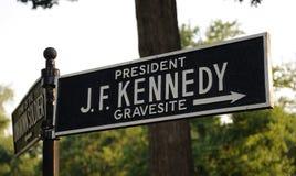 Kennedy. Gravesite signal of J. F Kennedy Royalty Free Stock Photo