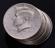 Kennedy Half Dollar Stock Images