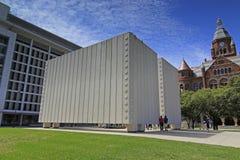Kennedy Memorial à Dallas du centre Photographie stock