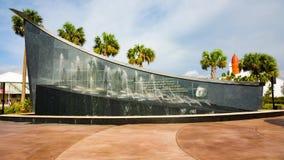 Kennedy minnesmärke på Kennedy Space Center lager videofilmer