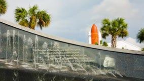 Kennedy minnesmärke på Kennedy Space Center arkivfilmer
