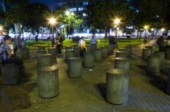 Kennedy Park ist einer der bekanntesten und besichtigten Parks in Lima wegen seines zentralen Standorts im Bezirk stockbilder