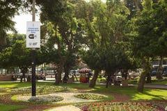Kennedy Park in Miraflores, Lima, Peru lizenzfreie stockfotografie
