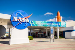 Kennedy Space Center Cape Canaveral, Florida, USA stockbilder