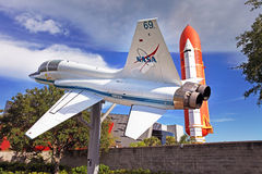Kennedy Space Center in Flordia Stock Images