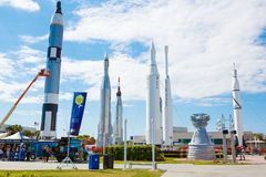 KENNEDY SPACE CENTER, FLORIDA, USA - 21. APRIL 2016: Kennedy Spa Stockbild