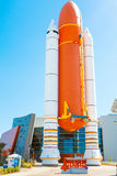 KENNEDY SPACE CENTER, FLORIDA, USA - APRIL 21, 2016: Kennedy Spa Stock Images