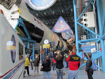 Kennedy Space Center. Inside the museum at the Kennedy Space Center Royalty Free Stock Photo