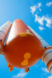 Kennedy Space Center near Cape Canaveral in Florida. Atlantis space shuttle.  Stock Photos