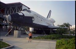 Kennedy Space Center, Raumfähre, Flugzeug, Raumfähre, Flugzeug, Luft- und Raumfahrttechnik stockbilder