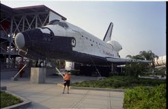 Kennedy Space Center, Space Shuttle, aircraft, space shuttle, airplane, aerospace engineering. Kennedy Space Center, Space Shuttle is aircraft, aerospace stock images