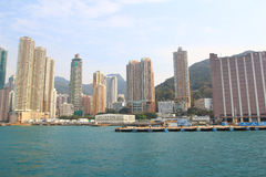 Kennedy Town, Belcher Bay , hong kong Royalty Free Stock Photos