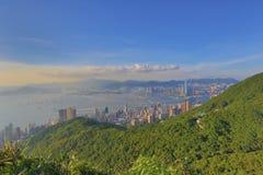 Kennedy Town am 28. Juni 2014 Hong Kong lizenzfreies stockfoto
