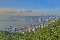 Kennedy Town am 28. Juni 2014 Hong Kong stockbilder