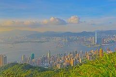 Kennedy Town am 28. Juni 2014 Hong Kong stockfotos