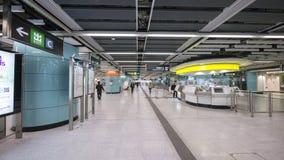 Kennedy Town Station - die Ausdehnung der Insel-Linie zum Westbezirk, Hong Kong Lizenzfreie Stockfotografie