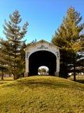 Kennedy Zakrywał Bridżowego Connersville Indiana obraz stock