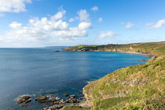 Kenneggy Cove Cornwall England Near Praa Sands And Penzance Royalty Free Stock Photography