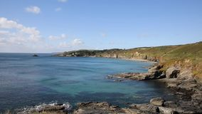 Kenneggy Cove Cornwall England west of Praa Sands Stock Photography