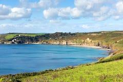 Kenneggy Sand Cornwall England near Praa Sands and Penzance Stock Photos